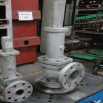 Manutenção de válvulas de segurança